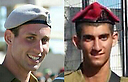 2nd Lt. Bar Rahav, 21, and Staff Sgt. Bnaya Rubel, 20