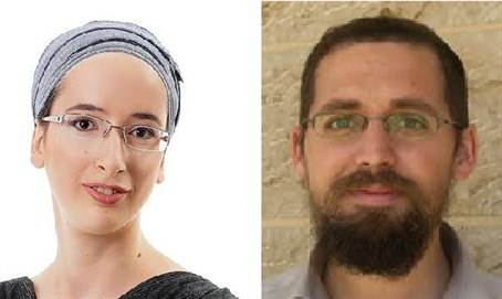 Rabbi Eitam and Naama Henkin from Neria