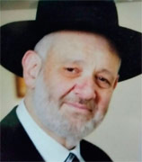 Rabbi Avraham Shmuel Goldberg, 68