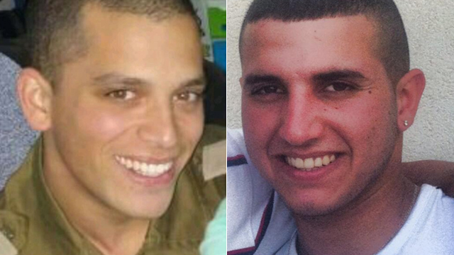 Captain Yohai Klangel, 25 and Sergeant Dor Nini, 20